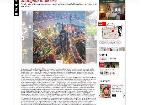 Shanghai Guide Elle Italia