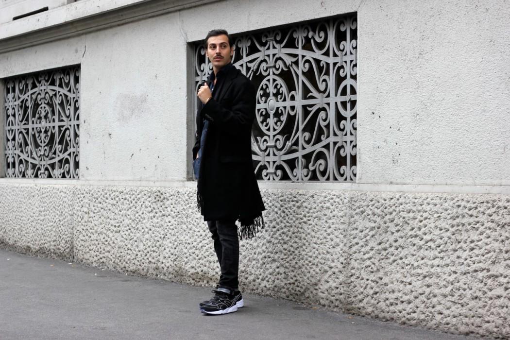 buy popular c70ac a09f2 Tendenza cappotti inverno 2016: il cappotto con frange ...