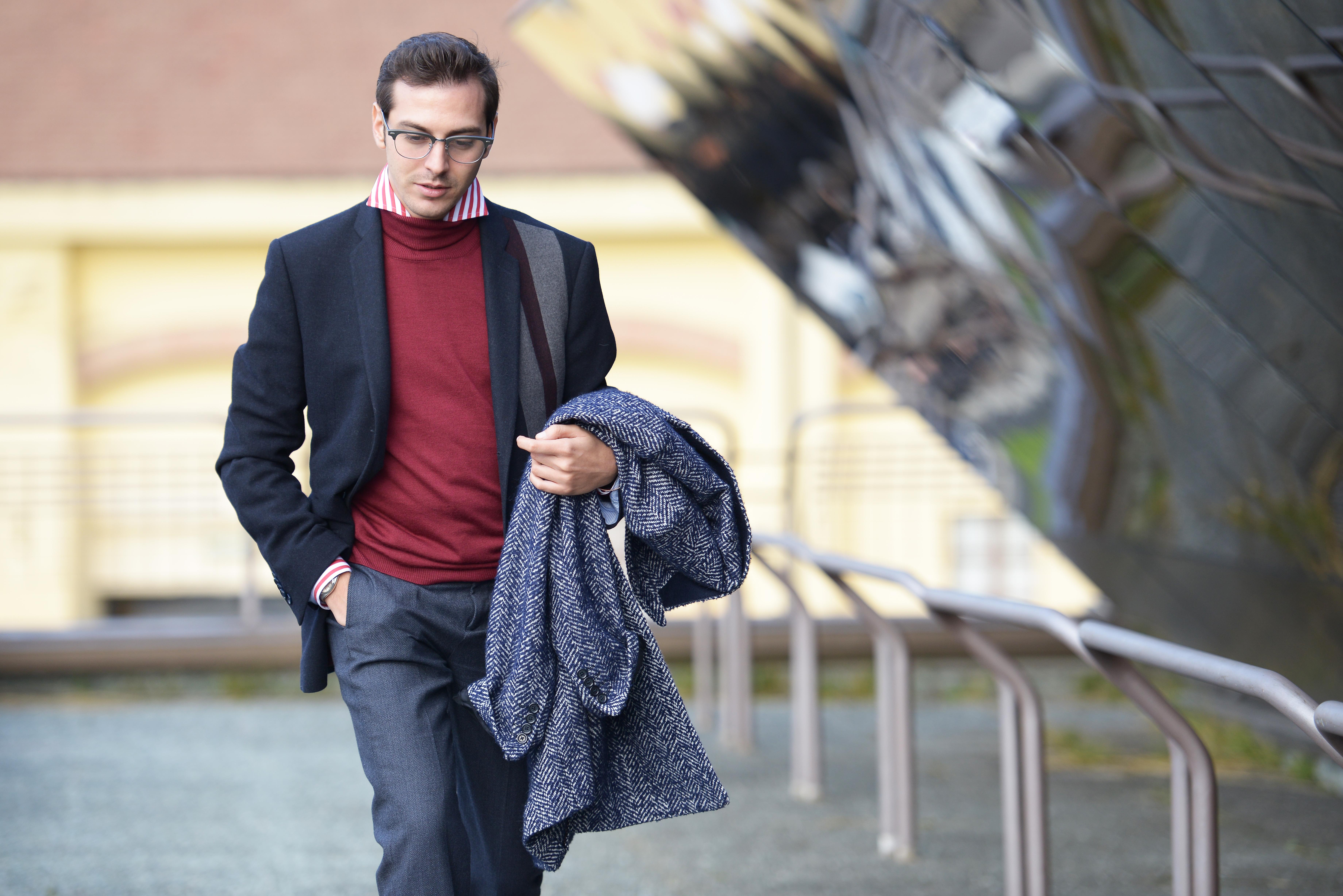 Come Indossare Il Maglione Dolcevita | Camiciaecravatta