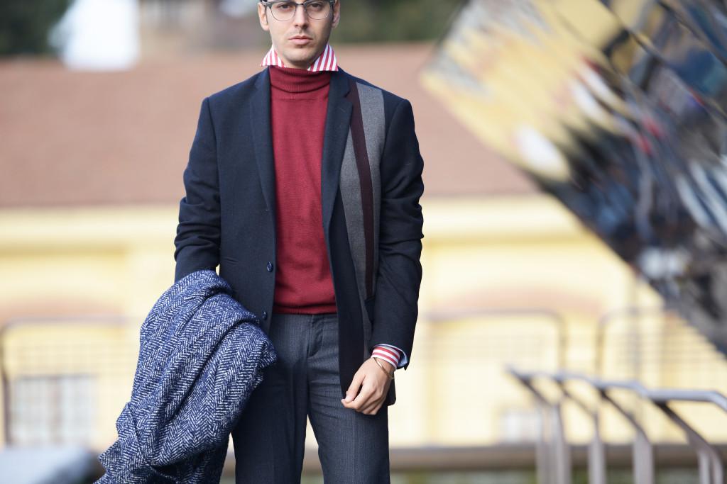 Roberto De Rosa Pitti Day 1 & Come indossare un dolcevita da uomo