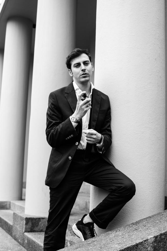 Nuovo profumo Dior Homme Intense Roberto De Rosa per Dior fragrance 2016