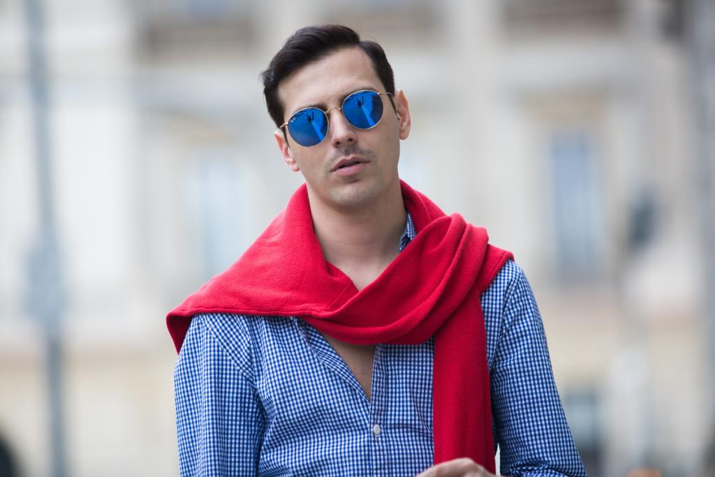 Roberto De Rosa a Milano - Il mio zaino estivo 2016 di Tommy Hilfiger