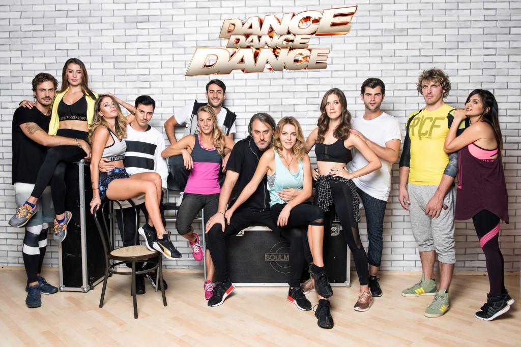 Roberto De Rosa e Chiara Nasti più tutto il cast di Dance Dance Dance - Ci vediamo su FoxLife a Dance Dance Dance
