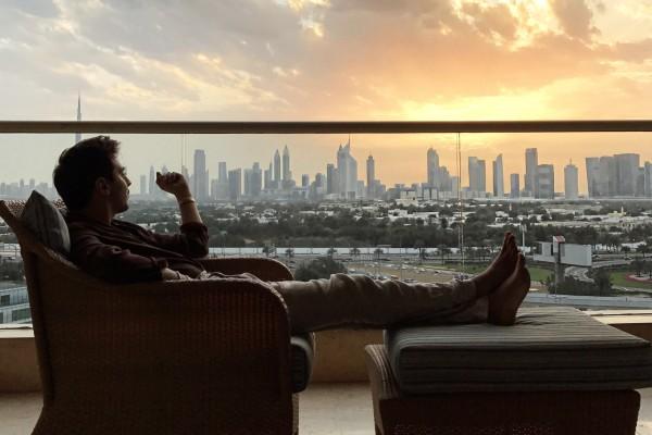 Roberto De Rosa al Raffles Hotel 4 giorni a Dubai e Abu Dhabi, negli Emirati Arabi