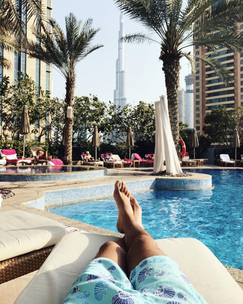 Roberto De Rosa presso Shangri-La Hotel 4 giorni a Dubai e Abu Dhabi, negli Emirati Arabi