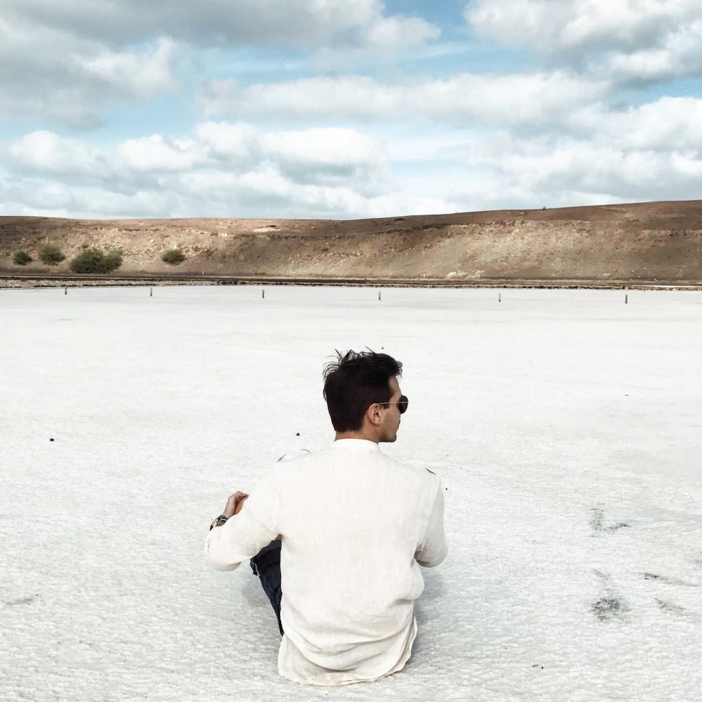 Roberto De Rosa sull'Isola di Sal con Cabo Verde Time
