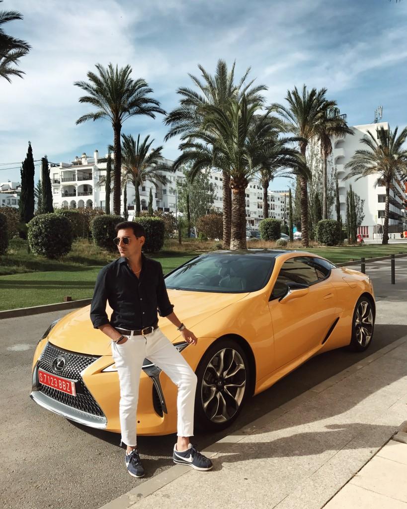 Roberto De Rosa - Il mio weekend a Ibiza a bordo della nuova Lexus LC