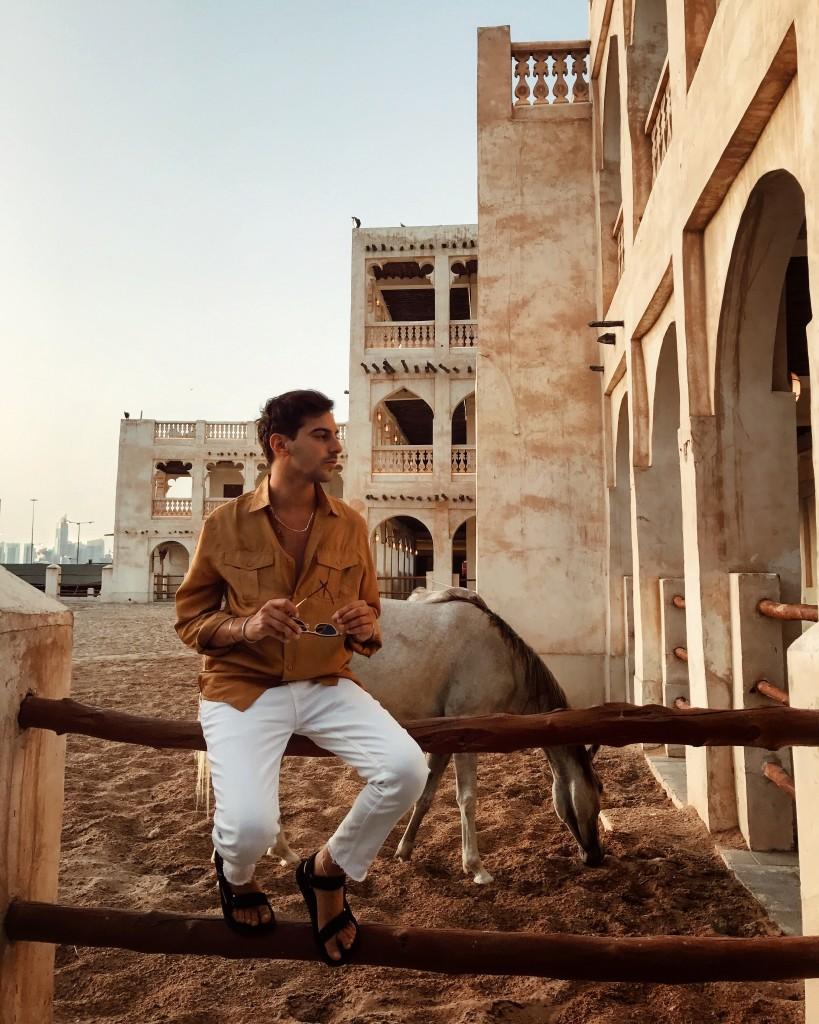 Cosa ho visto a Doha in Qatar - Roberto De Rosa al Souq Waqif Boutique Hotels