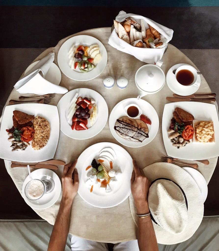 Cosa ho visto a Doha in Qatar - Roberto De Rosa fa colazione al Souq Waqif Boutique Hotels