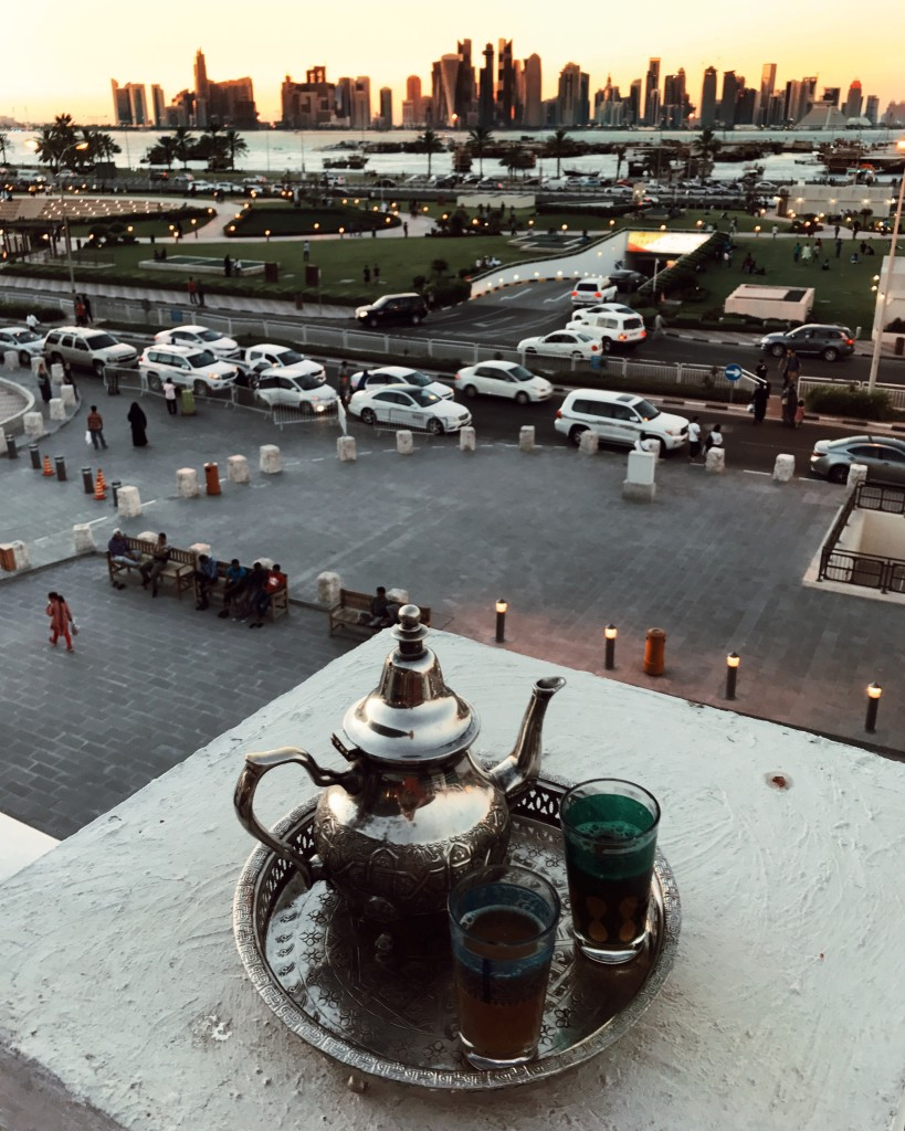 Cosa ho visto a Doha in Qatar - Roberto De Rosa all'ora del thè presso il Souq Waqif Boutique Hotels