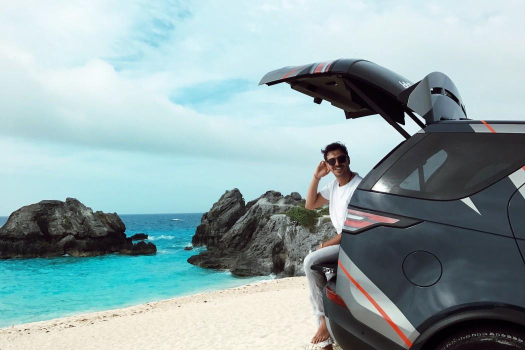 Roberto De Rosa - Il mio viaggio alle Bermuda per l'America's Cup con Land Rover Bar