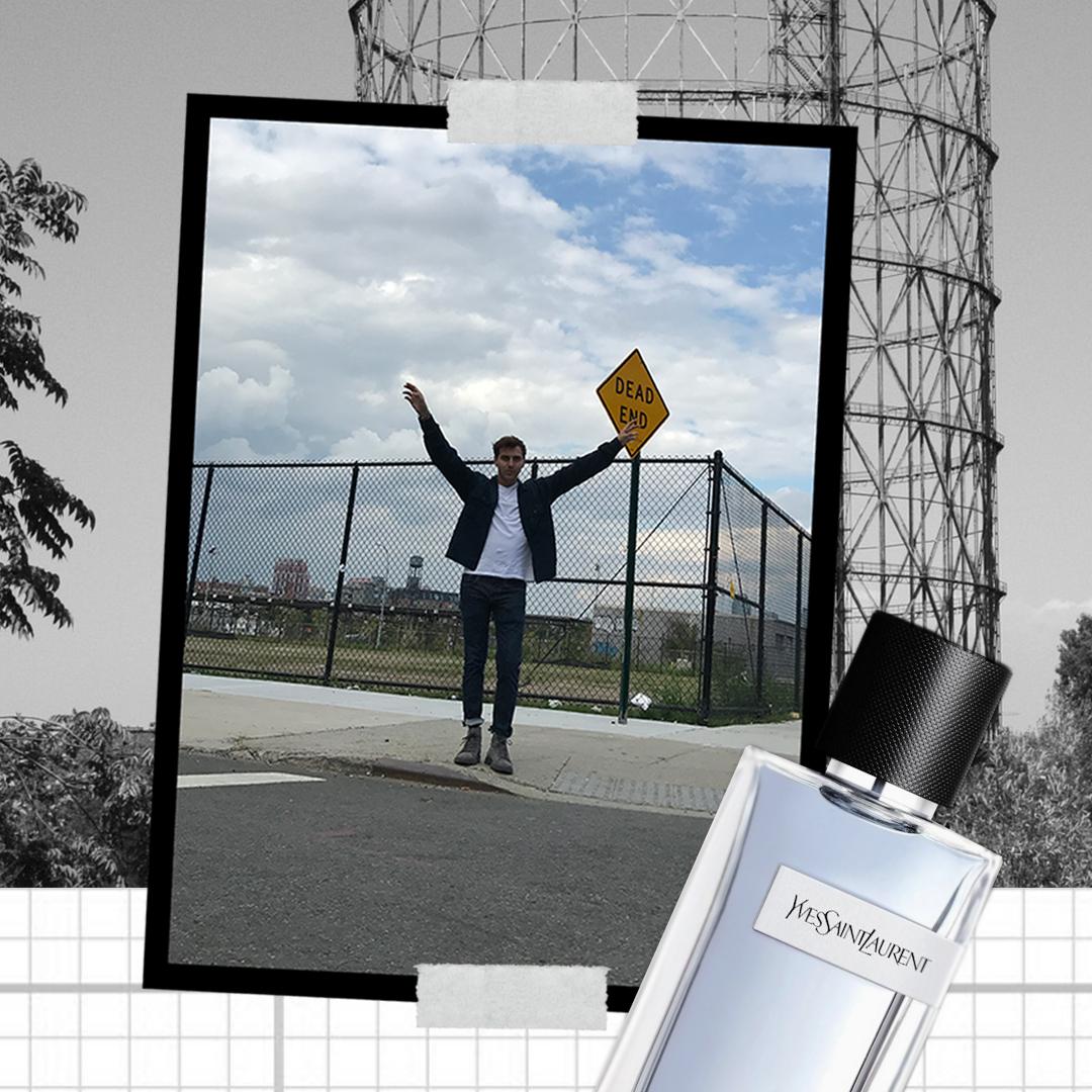 Roberto De Rosa per Y, la nuova fragranza maschile Yves Saint Laurent