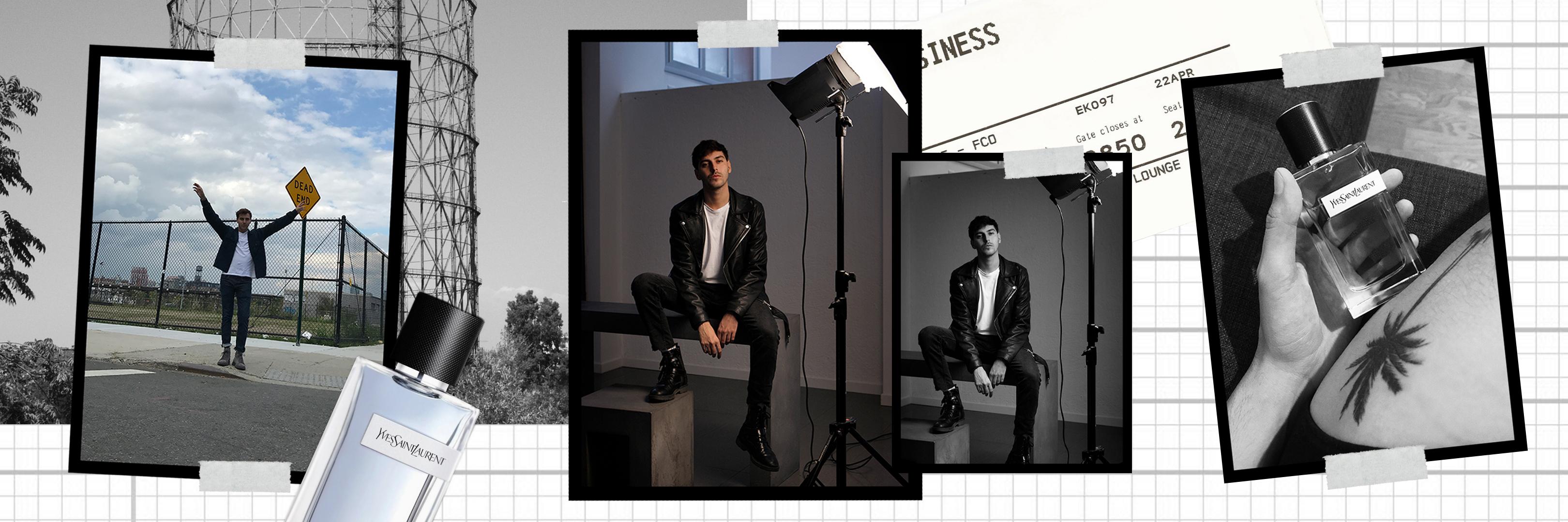 Y, la nuova fragranza maschile Yves Saint Laurent - La campagna di Roberto De Rosa