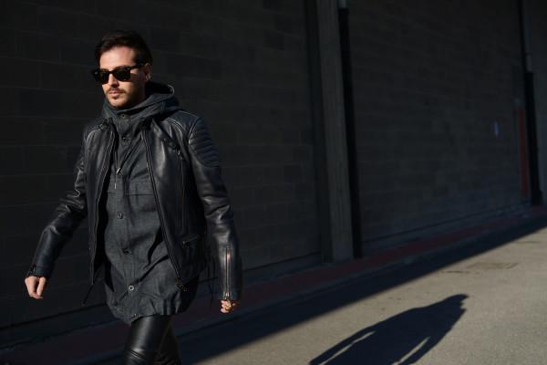 Roberto De Rosa a Milano Moda Uomo: Il mio look per la sfilata Diesel Black Gold